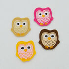 cute owl Embroidered Patch Iron On Badge Sew Fabric Bag For Clothes Applique Hat