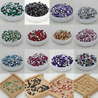 200 pcs  3mm Clear Round Crystal Resin Cone bottom Rhinestone DIY fixes Decorate