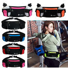Running Hydration Belt Waist Pouch Bag +2 Water Bottles Hiking Jogging Gym Pack