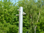 Stainless Steel Washing line post - Modern Style  Heavy Duty clothes pole dryer
