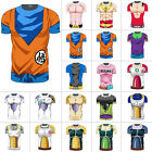 Dragon Ball Z DBZ Super Saiyan Goku Vegeta Training Tee T-shirt Dragonball Anime