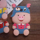 3D Cartoon Pig Soft Silicone Case Cover For iPhone 6 6S 7 / Plus For Samsung