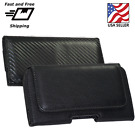 For Samsung Galaxy S5/S6/S6 Edge & S7 Leather belt clip Pouch Holster cover case