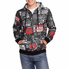 Original Star Wars Movie Vintage All Over Graphic Comic Book Zipper Hoodie New $16.99 USD