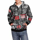 Original Star Wars Movie Vintage All Over Graphic Comic Book Zipper Hoodie New $19.99 USD