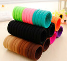 48pcs  Elastic SeamlessColors Hair Ties Bands Ponytail Holders Women Accessories