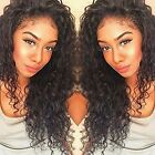 Pre-Plucked 150% Density 360 Lace Frontal Kinky Curly  Virgin Human Hair Wigs