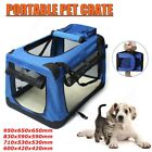 Dog Crate Soft Sided Pet Carrier Foldable Training Kennel Portable Cage House US