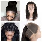 Pre Plucked 360 Lace Frontal Closure Virgin Human Hair Closure With Baby Hair