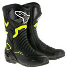 Alpinestars SMX-6 V2 Motorcycle Boots Brand New SMX 6 Fluo Red or Blue