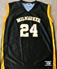 WISCONSIN-MILWAUKEE PANTHERS MEN'S NCAA BASKETBALL JERSEY NCAA #24 MEDIUM OR 2XL
