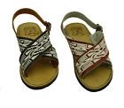 new MEN LEATHER MEXICAN two strap PITEADO BORDADO SANDALS HUARACHE