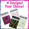 "6x10"" Designer Poly Bubble Mailers, Pink, 6x9 Peacock Padded Shipping Envelopes"
