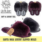 LADIES WOMENS SOFT WARM  COSY HOUSE KITCHEN FURRY PEEP TOE FLAT MULE SLIPPERS