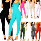 Внешний вид - Stretch Jumpsuit Romper Lady Long Blouse Top Bodysuit Women Sleeveless Leotard