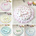 New Cotton Lace Handmade Pet Dog Cat Sofa Bed House Round Cushion Mat +pillow