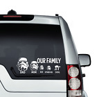 Star Wars  Family Car Decal Vinyl Sticker For Window Panel Bumper Storm Trooper $2.41 USD on eBay