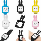 Cute Rabbit Ears Soft Silicone Protective Case Cover for Apple Watch 1/2 38/42MM
