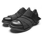 [FESSURA] Mens Mummy shoes Black Outsole Basic light Line Black