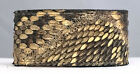 "Eastern Diamondback Rattlesnake Skin Arm Wrist Band Cuff Bracelet 1 3/8"" wide"