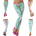 Leggings Leggins Legings Hose lang neu Strumpfhose Shorts Clubwear Party Größe