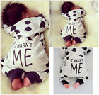 Toddler Infant Baby Boy Girl Cotton Bodysuit Jumpsuit Romper Outfit Clothes 0-2T