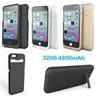 External Backup Power Bank Pack Battery Charger Case For Iphone 5 Se 6 6s 7 Plus