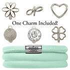 Endless Jewelry StarterKit Mint Triple Bracelet & Charm (Authorized Retailer)
