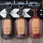 Genuine Leather car key cover For Toyota Corolla camry CROWN Rav4 Highlander