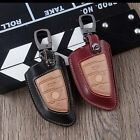 Genuine Leather Remote Key Cover Case For BMW X5 E53 X6 Series Keychain