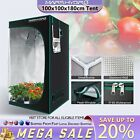 2020 Premium Grow Tent 1680D Silver Mylar Indoor Bud Box Hydroponics Dark Room