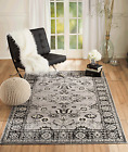 ORIENTAL AREA RUGS GRAY #27 APPROXIMATE SIZES  2'X3' 2'X7' 4'X5' 5'X7' 8'X11'