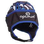 Optimum Razor Rugby Headguard Scrum Cap Black/Blue