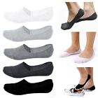 LOT 5 pairs Mens Women Ankle Invisible Sports Loafer Boat Low Cut No Show Socks