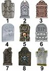 Tombstone Halloween Design Large Sticky White Paper Stickers Labels NEW