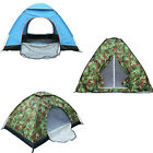 US 1-4 Person Portable Pop Up Beach Tent Anti-UV Sun Shade Cabin Outdoor Camping