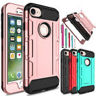 Shockproof Hybrid Hard PC+TPU Matte Phone Case Cover For Apple iPhone 7 / 7 Plus