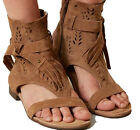 Naughty Monkey Cochise Suede Leather Sandals