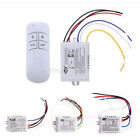 1pcs Wireless 1/2/3 Channel ON/OFF Lamp Remote Control Switch Receiver US