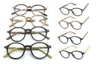 Fashion Oval Large Oversized Frame Wooden Reading Glasses +1.00 ~ +4.00 Readers