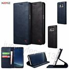 XOOMZ PU Leather Kicstand Wallet Folio Case Cover for Samsung Galaxy S8 / S8+