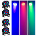 4PCS 54W RGB PAR64 DJ Party  Light Stage Lighting Club Bar / DMX512 controller