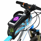 RockBros Cycling Bicycle Front Tube Bag Touch Screen Waterproof Bike Frame Bag