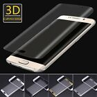 Full Curved Tempered Glass Screen Film Protector for Samsung Galaxy S7 Edge Lot