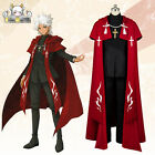 Fate/Apocrypha Shirou Kotomine Silver Lizard cosplay costume red coat