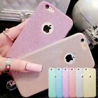Fashion Women Bling Glitter Sparkle Silicone Protective Case Cover for iPhone 6s
