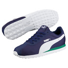 PUMA TURIN NL CASUAL TRAINERS FREE POSTAGE BLUE WHITE GREEN