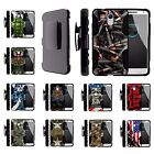 For Motorola Droid Versions Rugged Holster Belt Clip Case Armor Military War