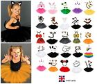 Kids ANIMAL FANCY DRESS TUTU COSTUME Party Book Week Day Outfit Girls Teens UK