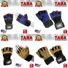 FITNESS MEN'S NEW HEAVY DUTY WEIGHTLIFTING GYM BODY BUILDING WORKOUT GLOVES